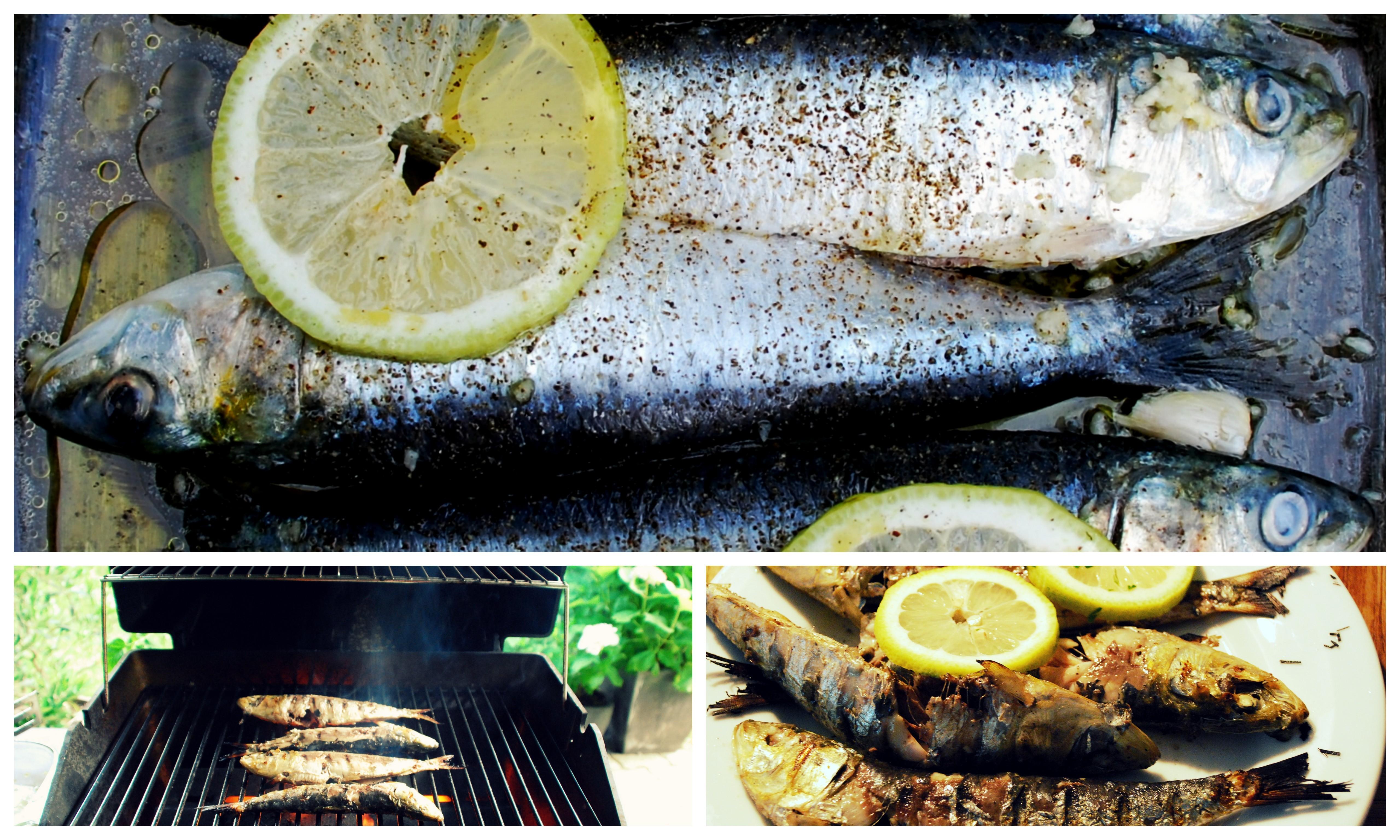 so schmecken ferien sardinen vom grill zum fressn gern. Black Bedroom Furniture Sets. Home Design Ideas